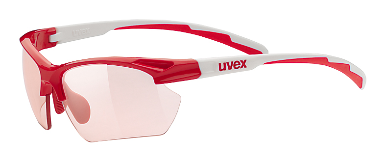 UVEX SPORTSTYLE 802 SMALL VARIO RED/WHITE