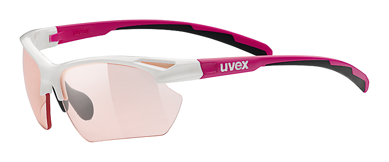 UVEX SPORTSTYLE 802 SMALL VARIO WHITE/PINK