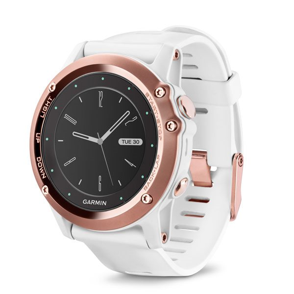 GARMIN Fenix 3 Sapphire (Rose) HR Optic