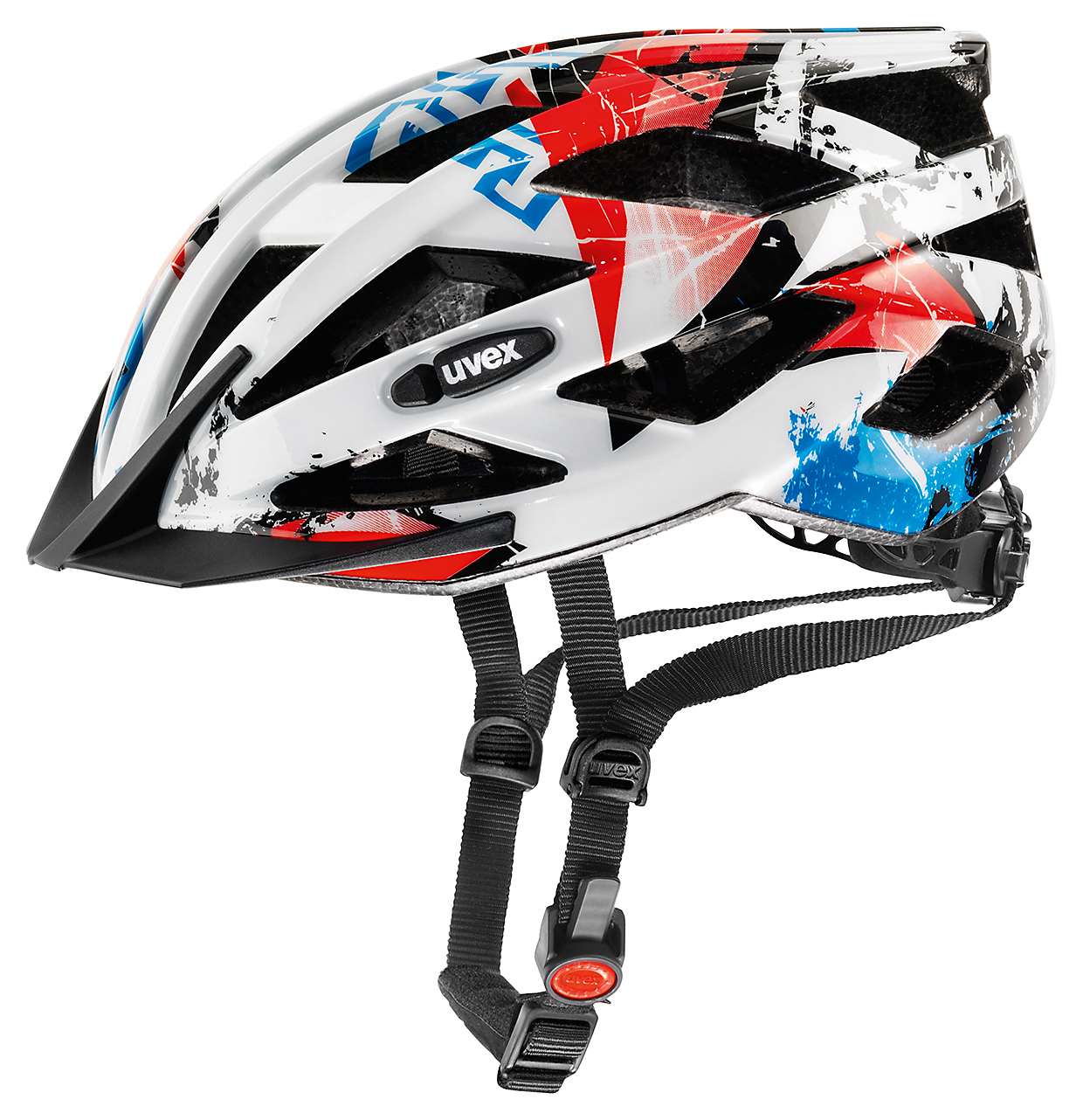 UVEX HELMA AIR WING WHITE-RED 2015