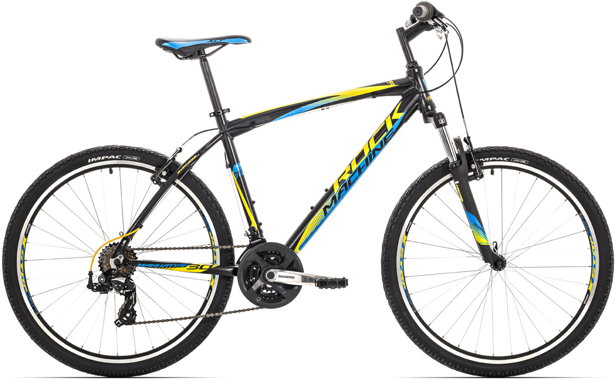 ROCK MACHINE Manhattan 30 black/yellow/blue 19 2016
