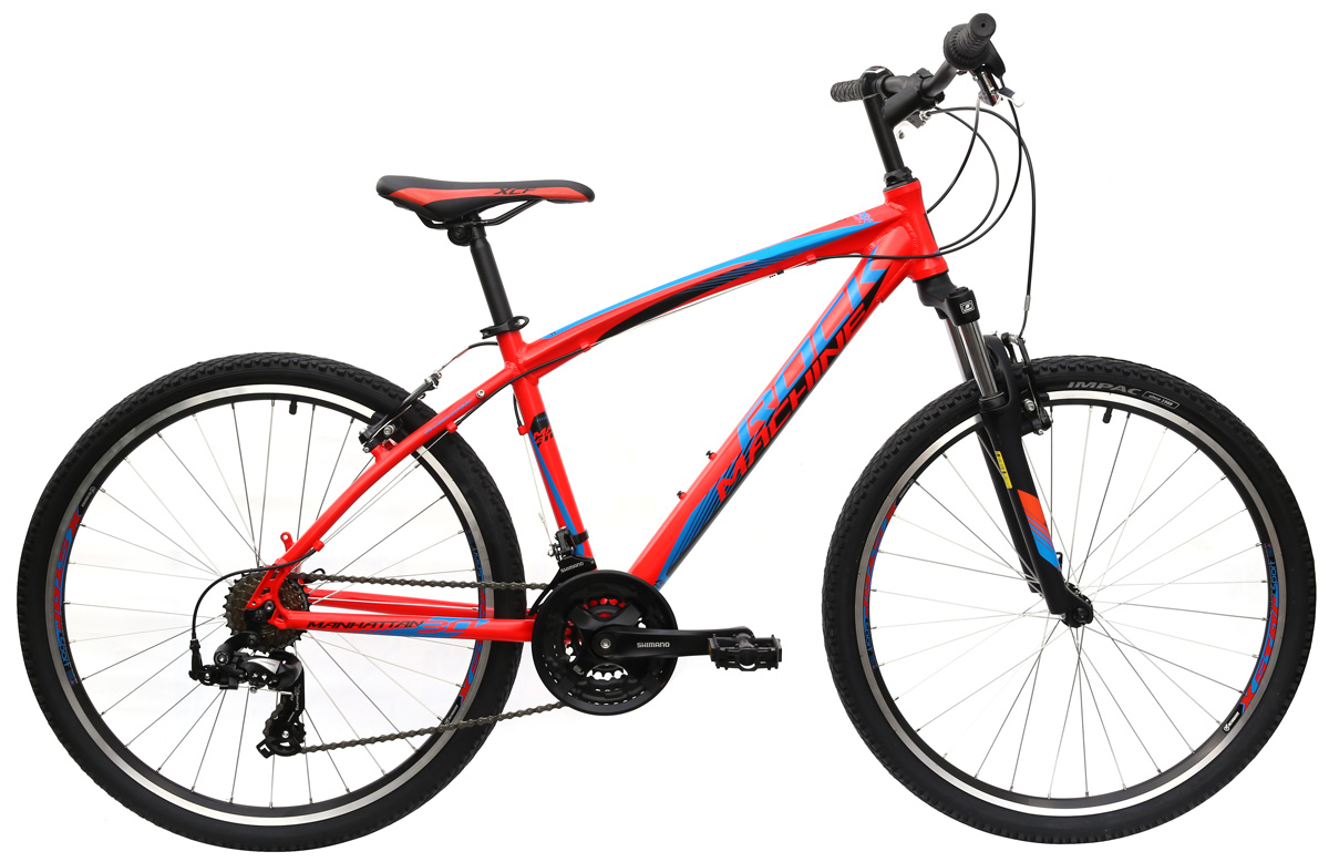 ROCK MACHINE Manhattan 30 red/blue/black 16,5 2016