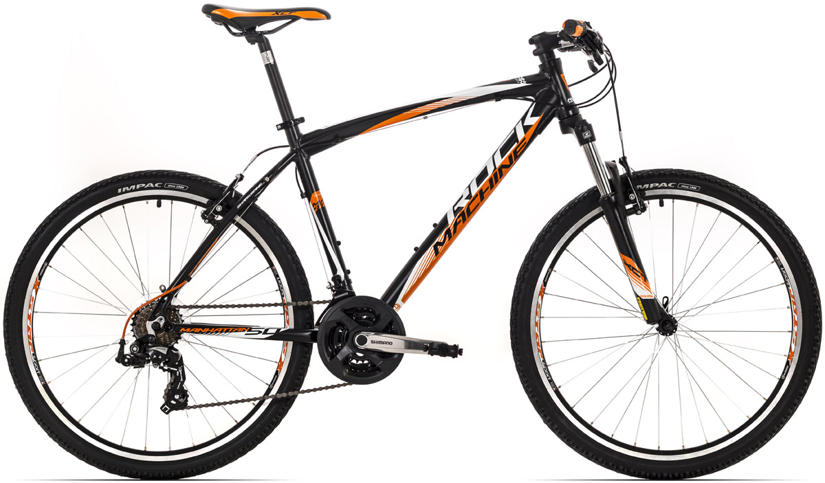 ROCK MACHINE Manhattan 50 black/orange/white 14 2016