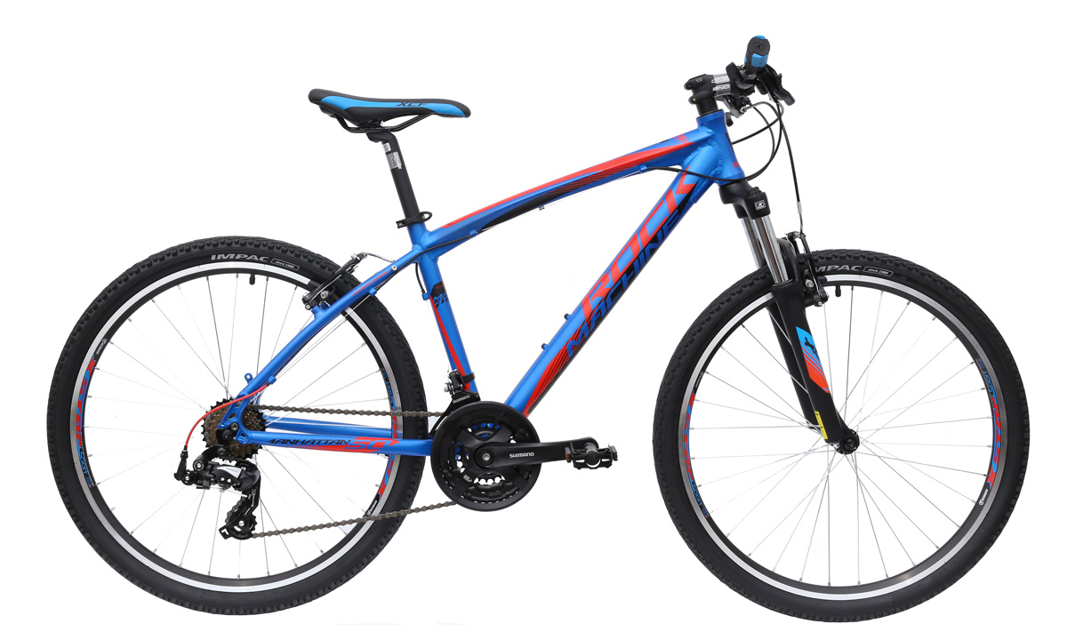 ROCK MACHINE Manhattan 50 blue/red/black 14 2016
