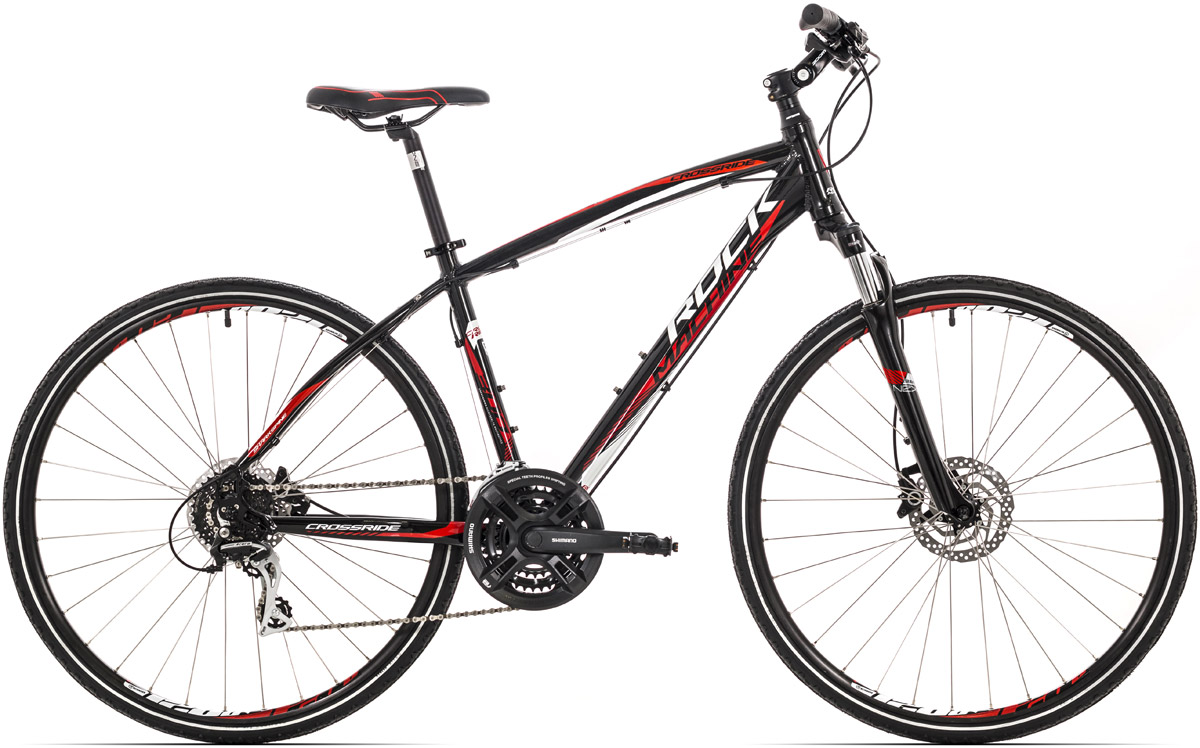 ROCK MACHINE CrossRide 300 black/red/white 18 2016