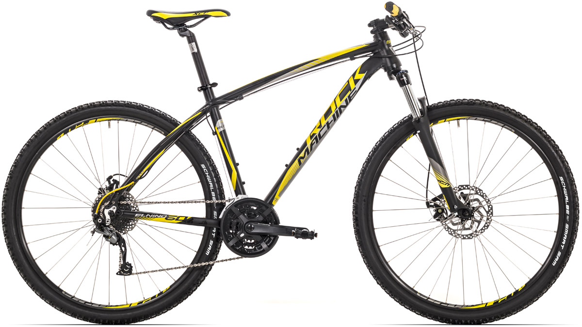 ROCK MACHINE El Nino 60 black/yellow/grey 19 2016