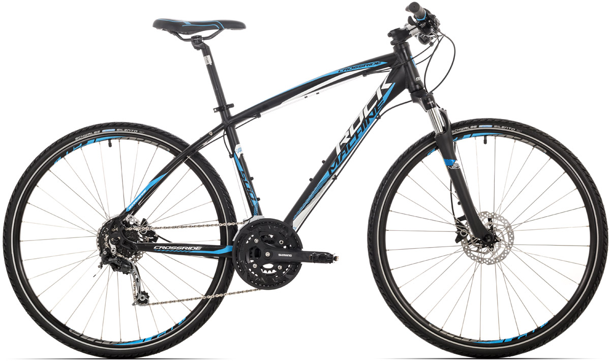 ROCK MACHINE CrossRide 500 black/blue/white 18 2016