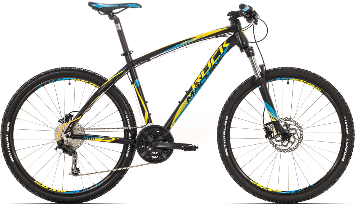 "ROCK MACHINE El Nino 90 16,5"" black/yellow/blue 16,5 2016"