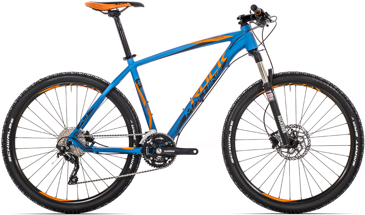 "ROCK MACHINE Torrent 70 16,5"" blue/orange/black 16,5 2016"