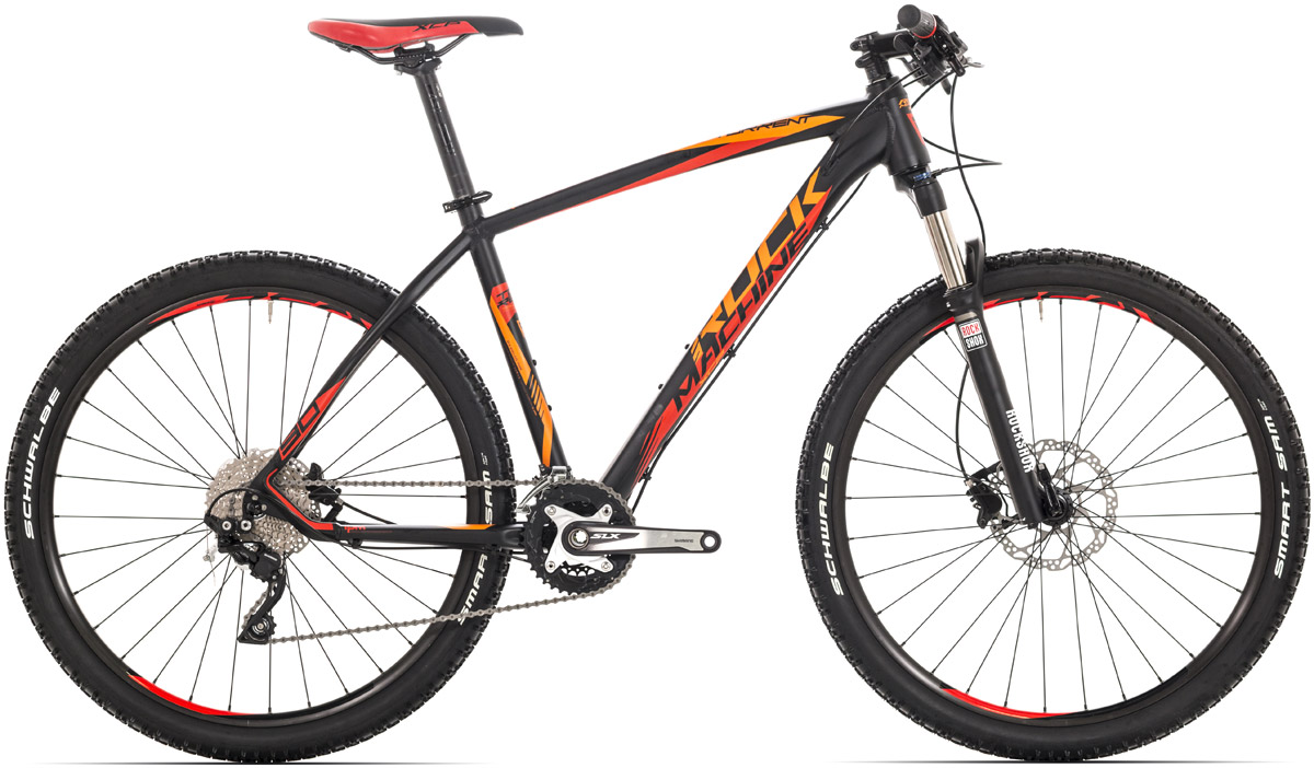 "ROCK MACHINE Torrent 90 16,5"" black/red/orange 16,5 2016"