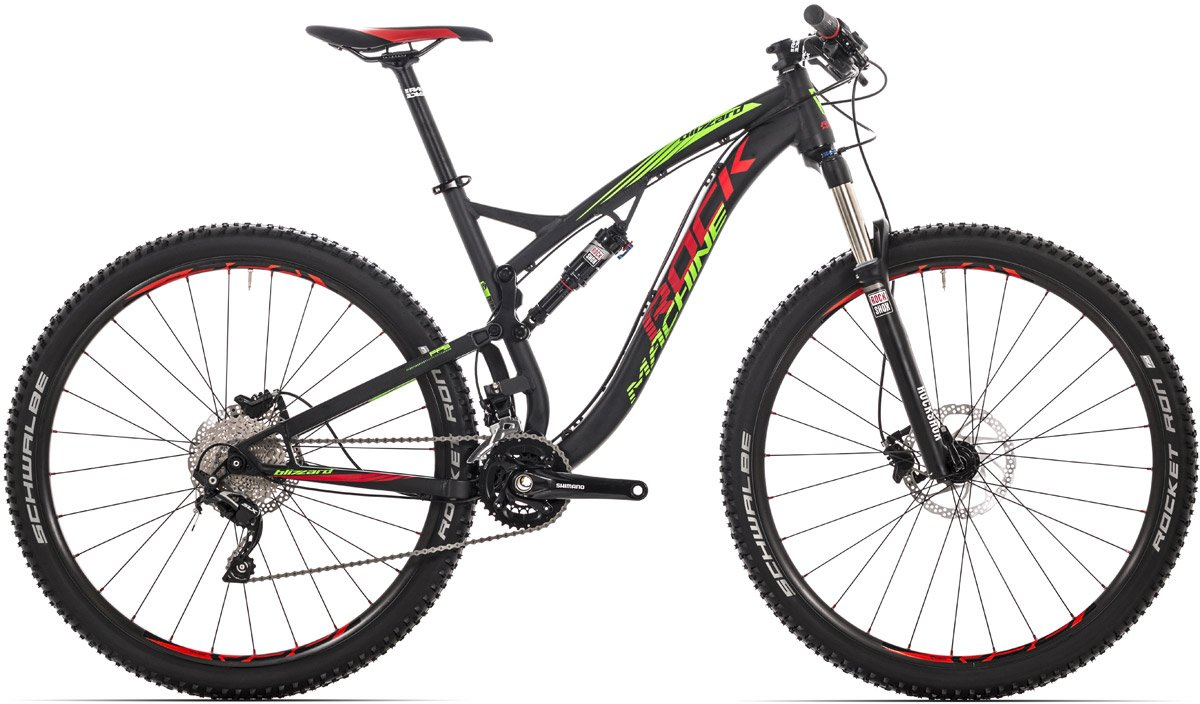 ROCK MACHINE Blizzard 30 black/green/red 17 2016