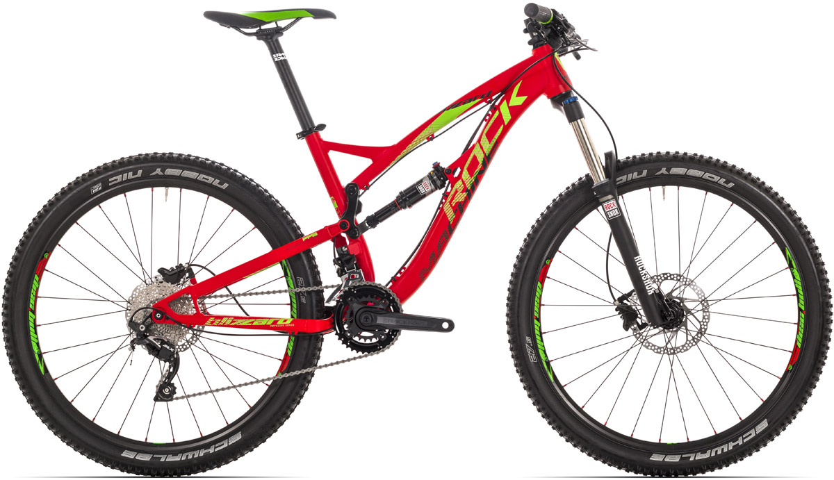 ROCK MACHINE Blizzard 50 red/green/black 17 2016
