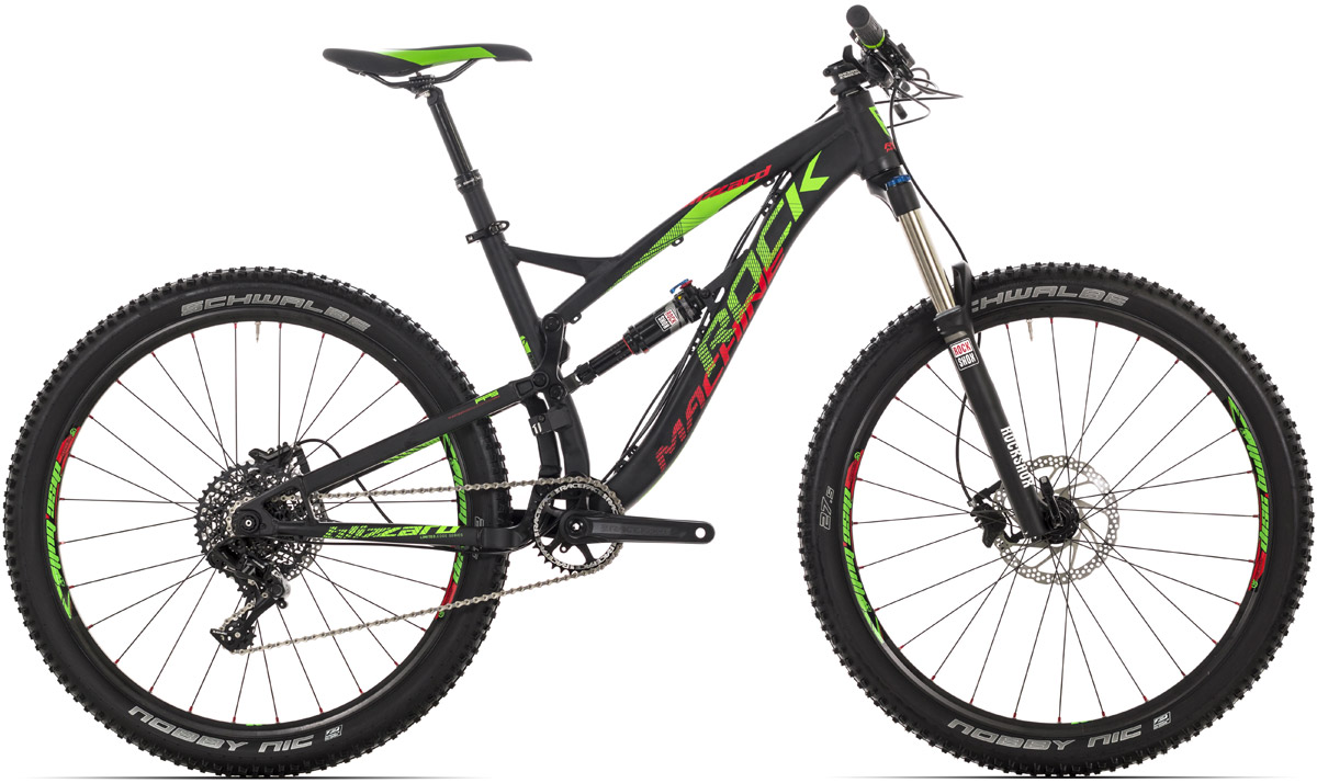 ROCK MACHINE Blizzard 50 LTD black/green/red 17 2016