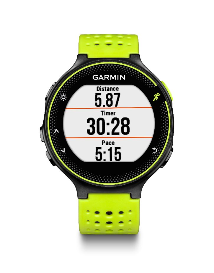 GARMIN Forerunner 230 Yellow HR Premium