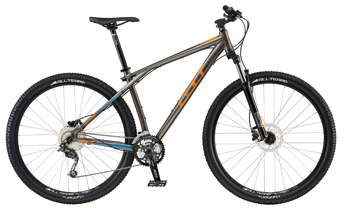 GT KARAKORAM 29 COMP, GREY/ORANGE M