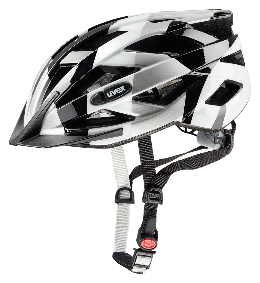 UVEX AIR WING BLACK-WHITE 52-57 cm 2017