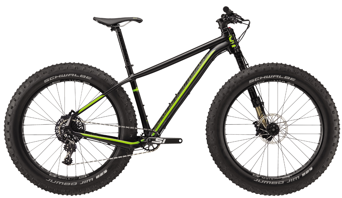 Cannondale FAT CAAD 1 XS 2017
