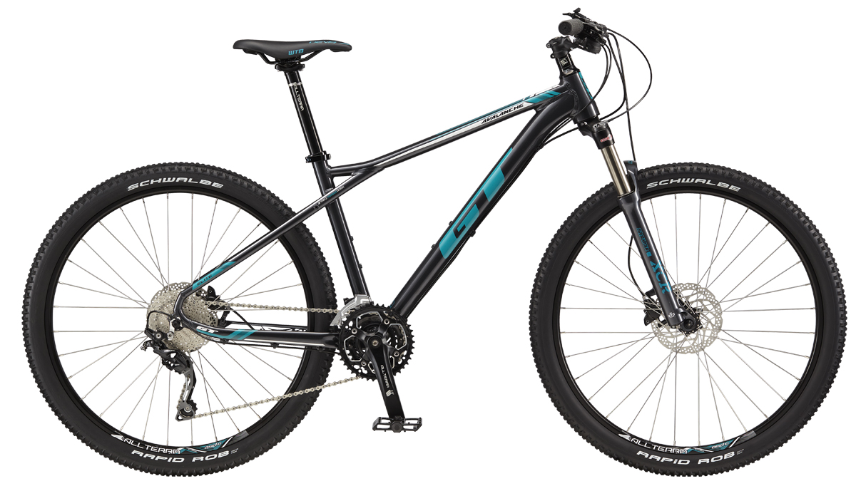 "GT AVALANCHE 27,5"" WOMENS ELITE, GUN/TEAL XXS 2017"