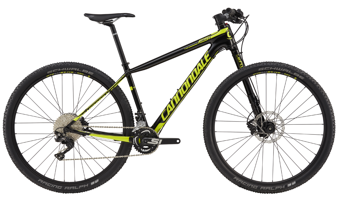 "Cannondale F-Si 29"" CARBON 4 BLK/YLW S 2017"