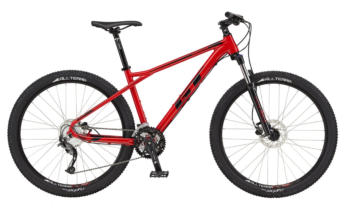 "GT AVALANCHE 27,5"" SPORT, RED/BLACK XS 2017"