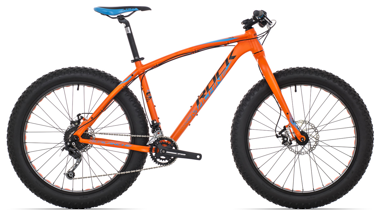 ROCK MACHINE Avalanche 30 orange/blue/black 16,5 2017