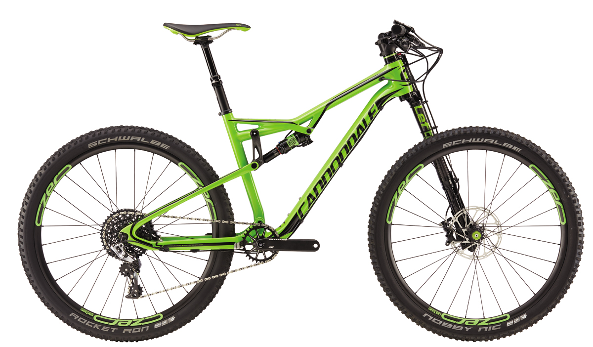 Cannondale HABIT CARBON 1 - GRN S 2016