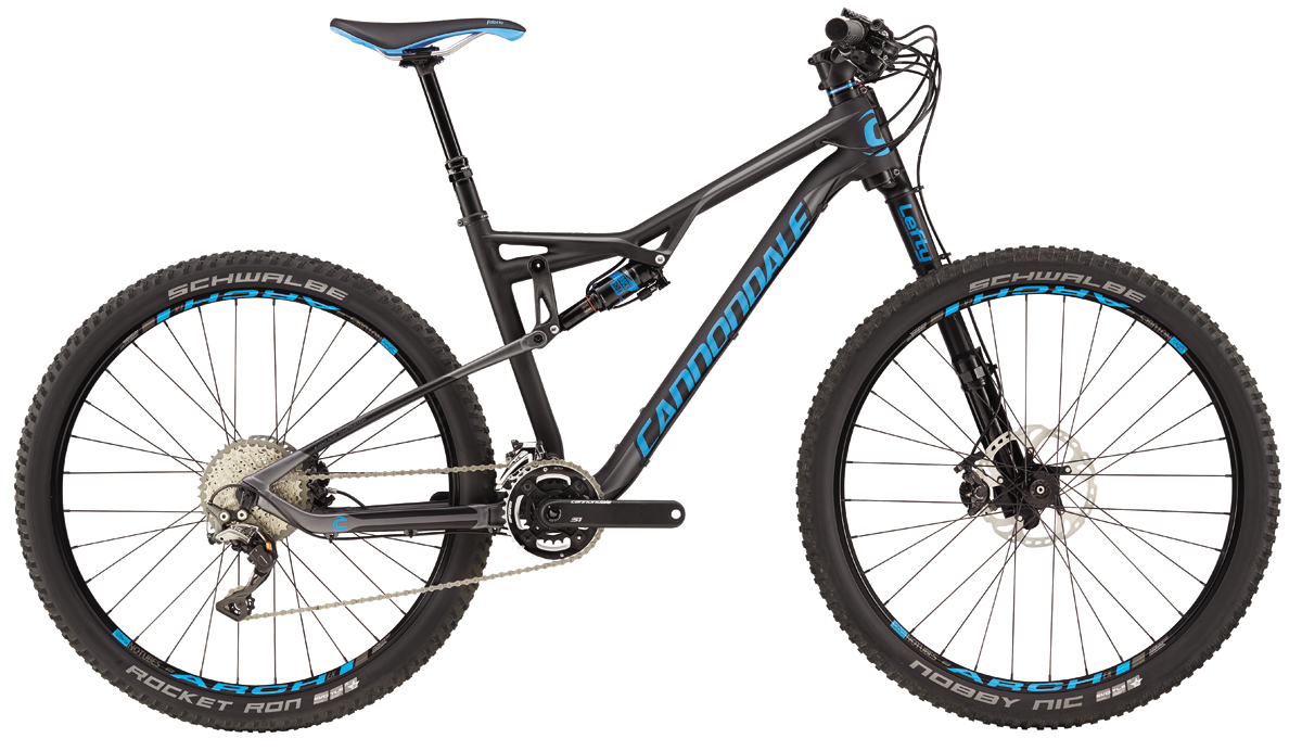 Cannondale HABIT CARBON 2 - BLK/BLU S 2016