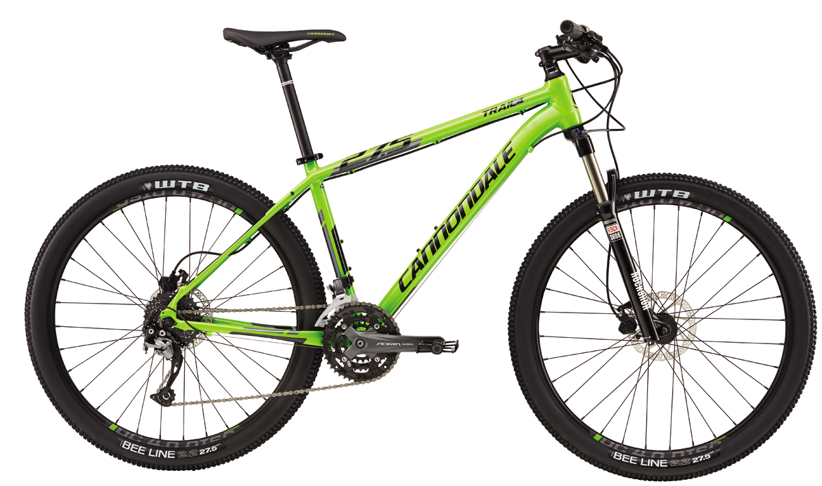 "Cannondale TRAIL 27,5"" 4 - GRN XL 2016"