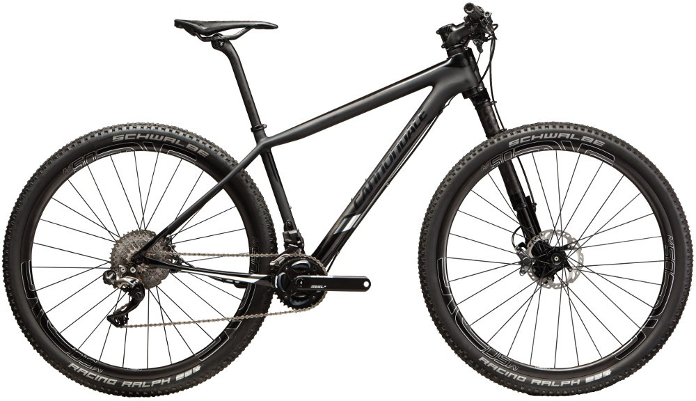 "Cannondale F-SI HI-MOD BLACK INC. S - 27,5"" 2016"