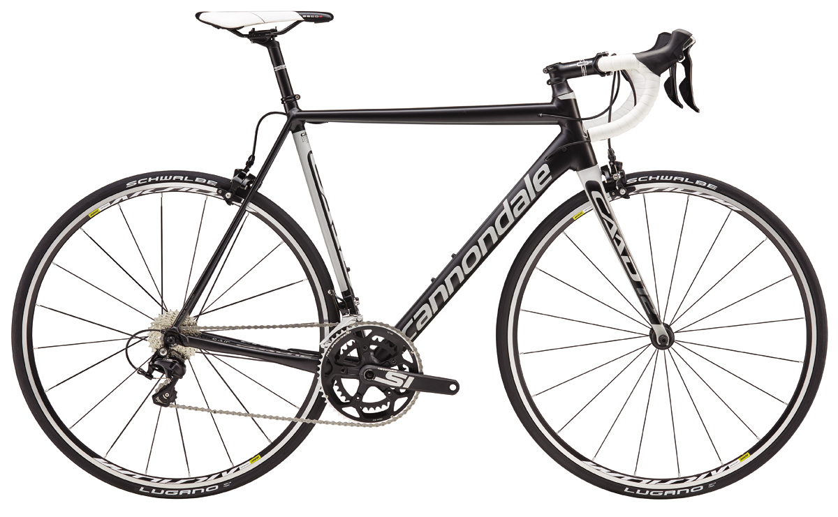 Cannondale CAAD 12 105 - BLK/WHT 48 2016