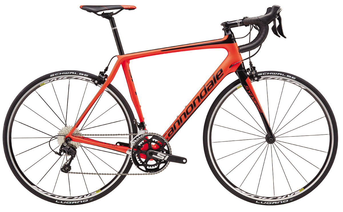 Cannondale SYNAPSE CARBON 105 - RED 48 2017