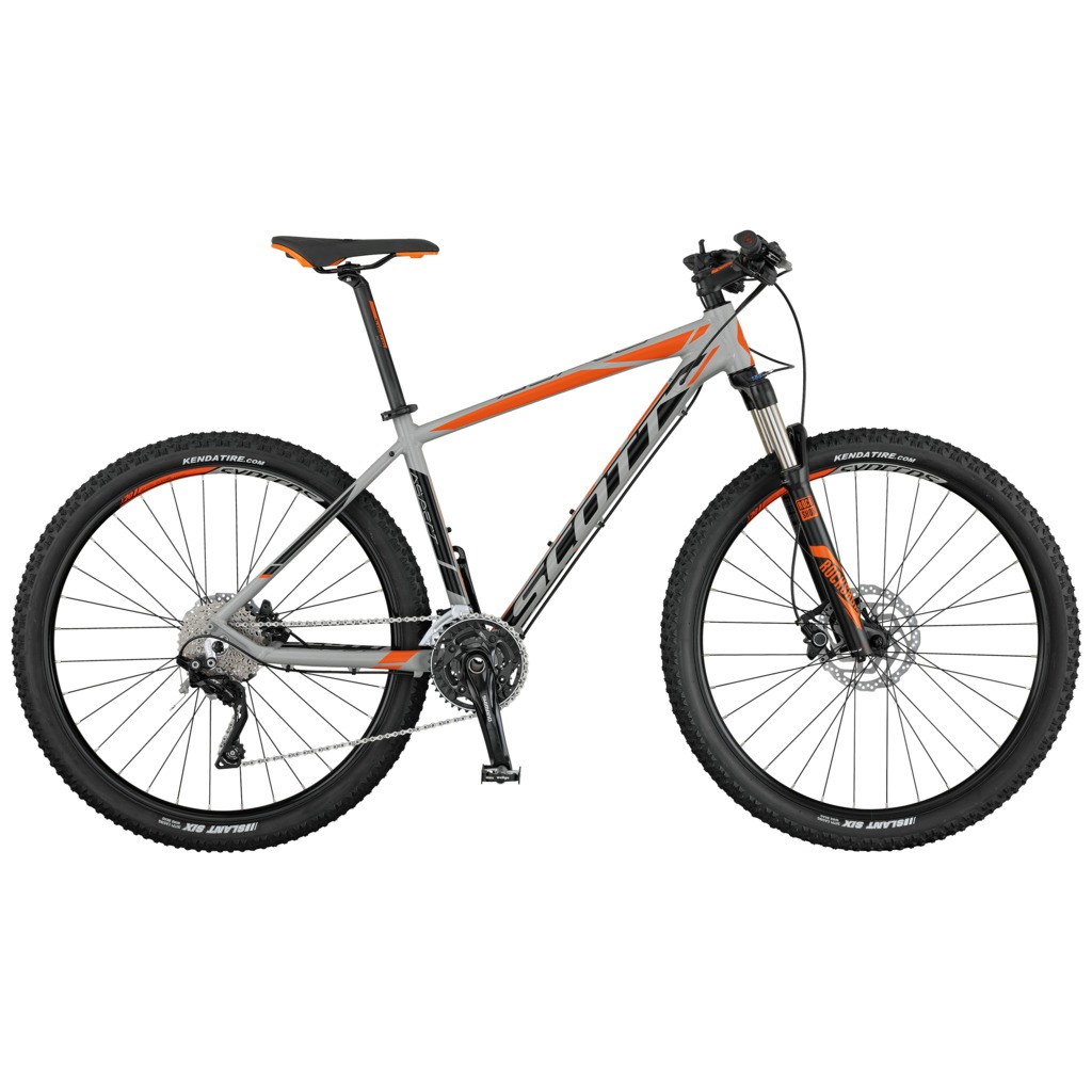 SCOTT Aspect 910 grey/black/orange S 2017