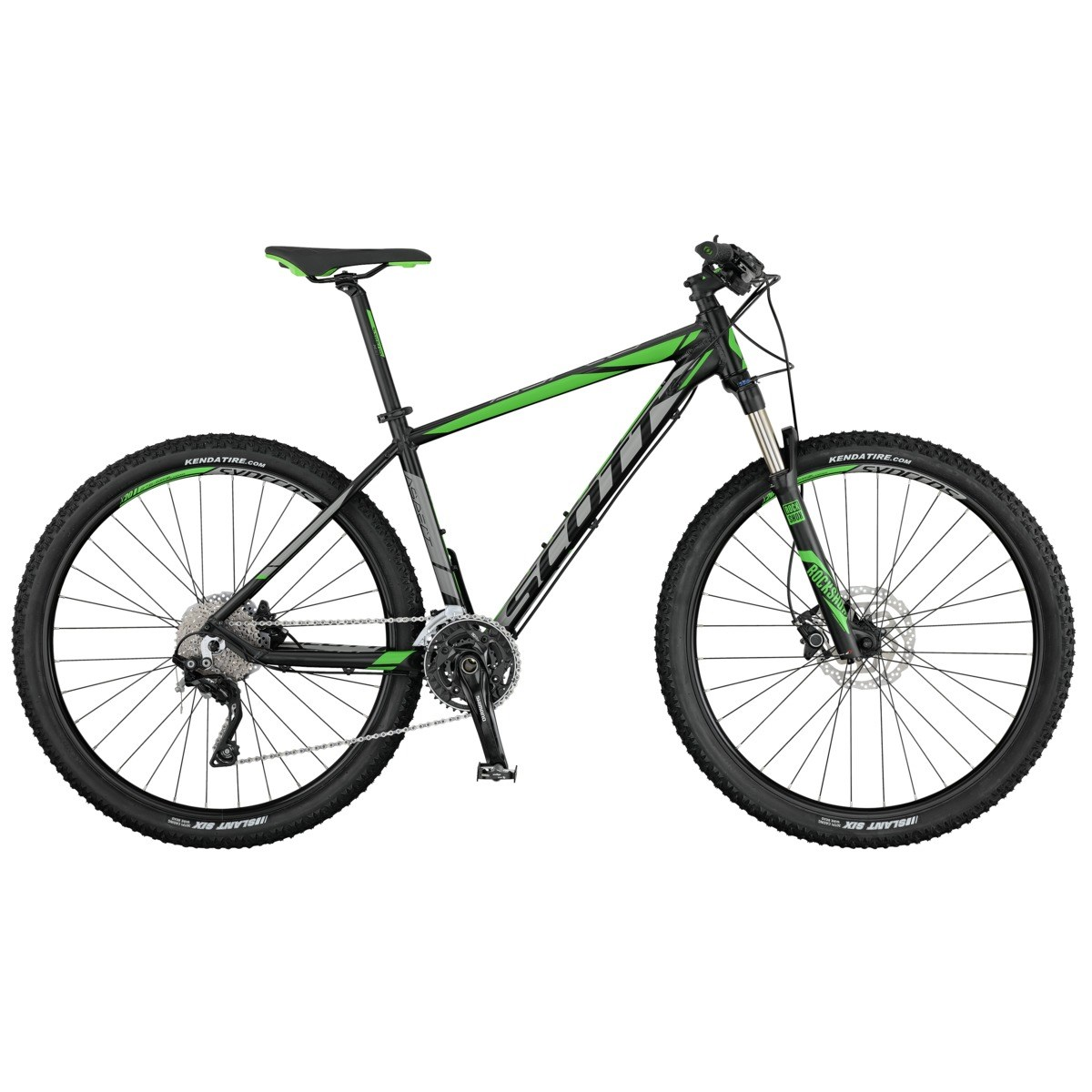 SCOTT Aspect 910 black/grey/green S 2017