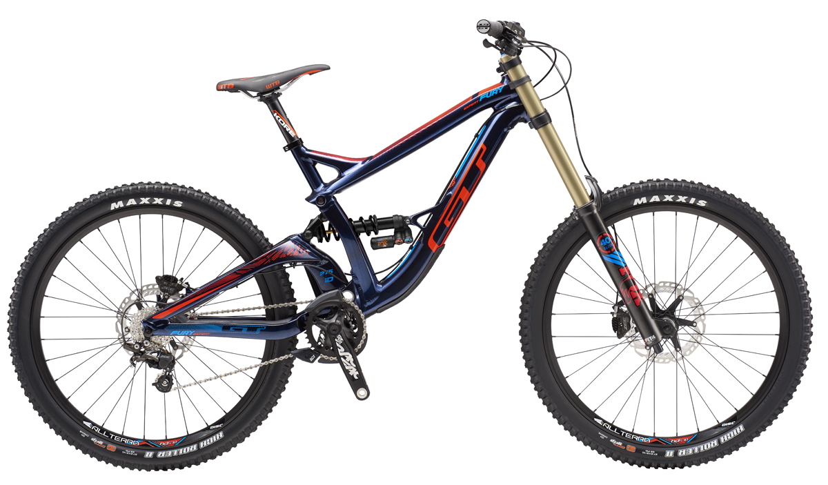 GT FURY 27,5 EXPERT, BLUE/NEON RED XS 2016