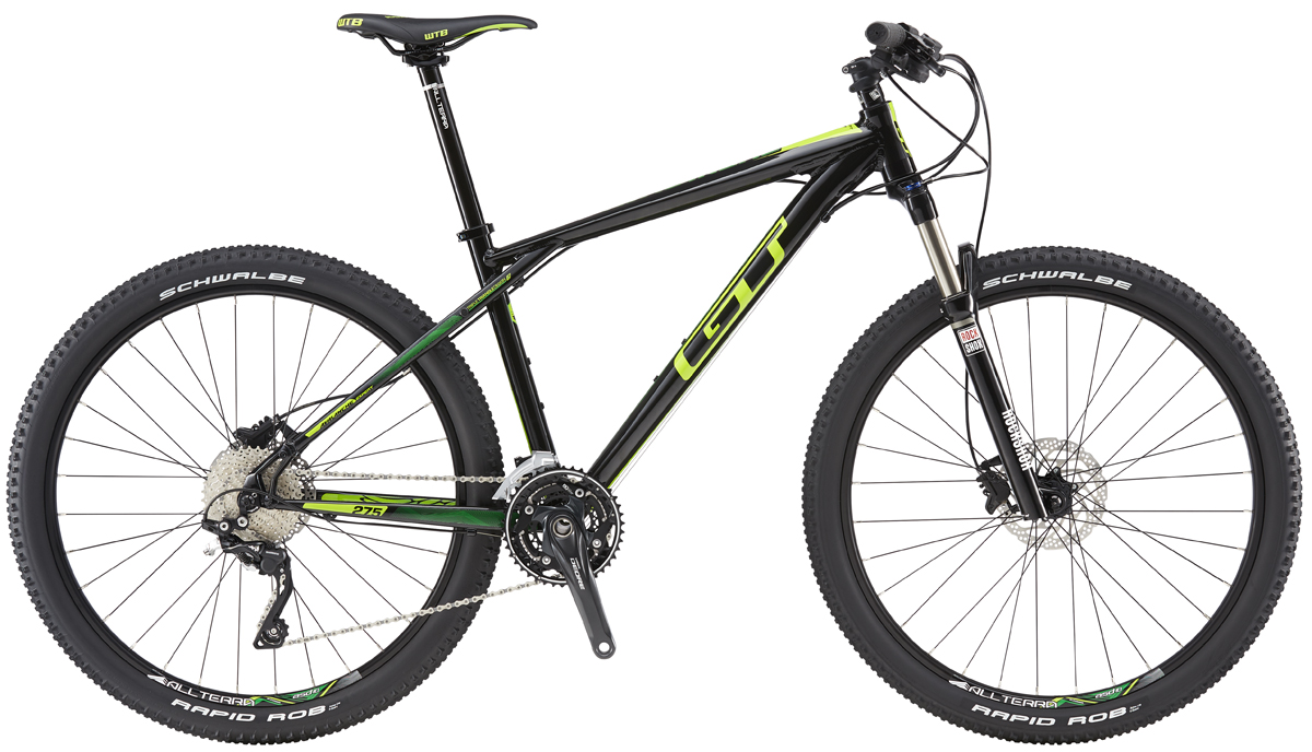 GT AVALANCHE 27,5 EXPERT, BLACK/SLIME LIME XS 2016