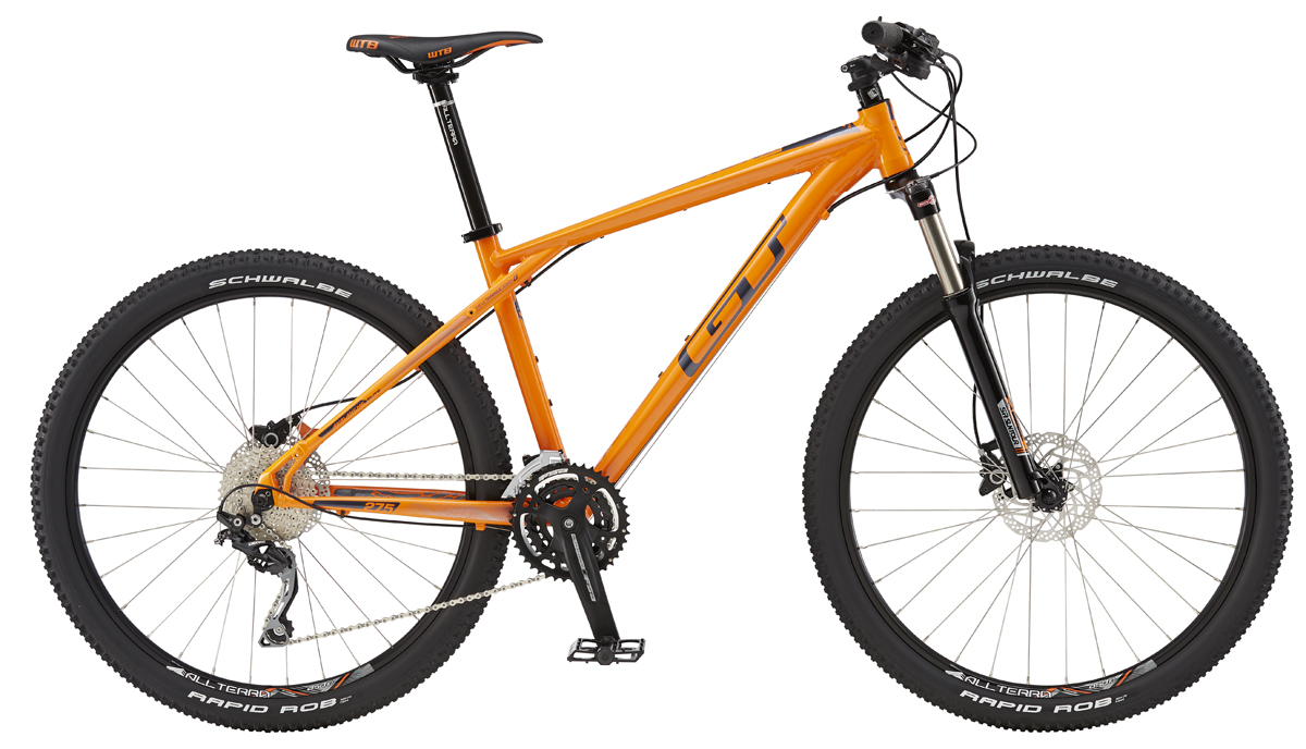 GT AVALANCHE 27,5 ELITE, ORANGE/GUN S 2016