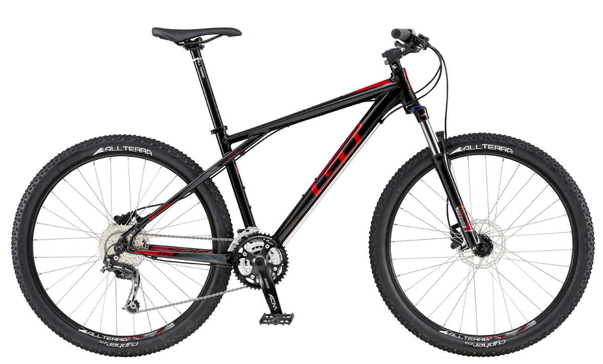 GT AVALANCHE 27,5 COMP, BLACK/RED XS 2016