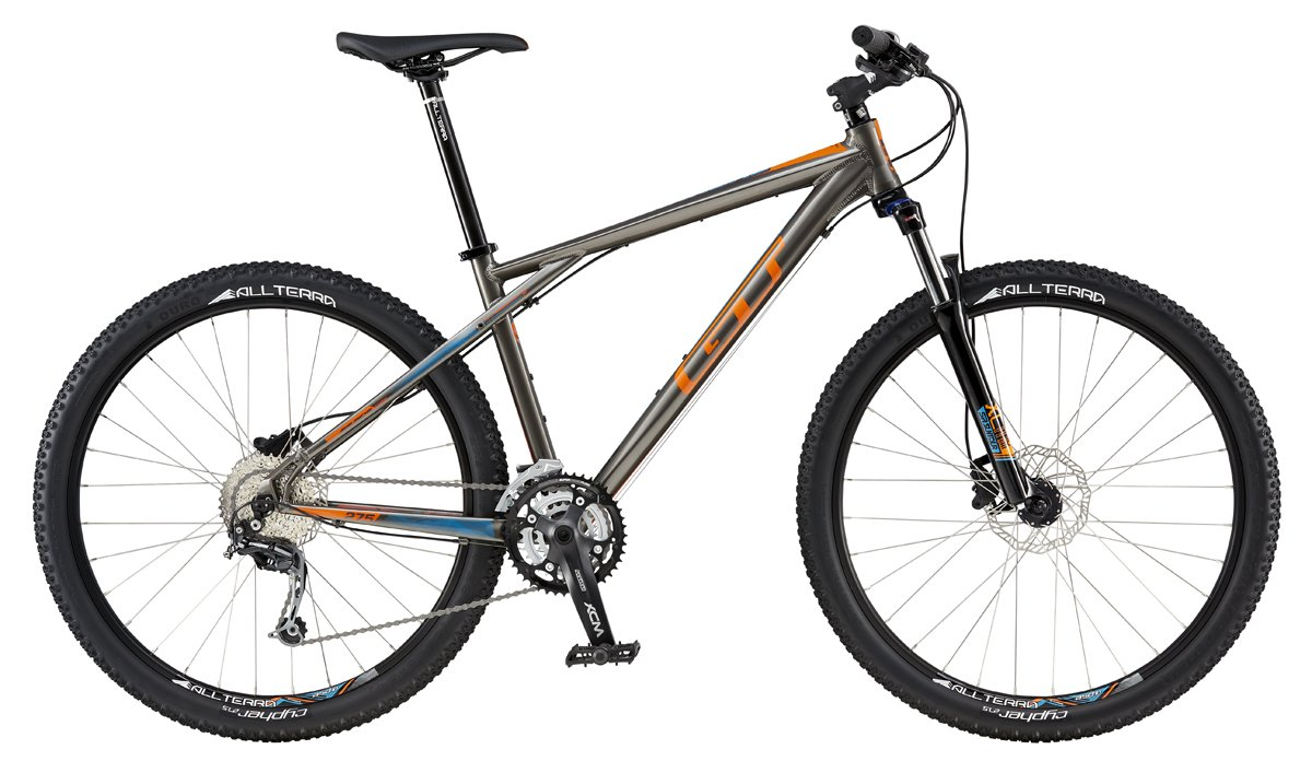 GT AVALANCHE 27,5 COMP, GRAY/ORANGE M 2016
