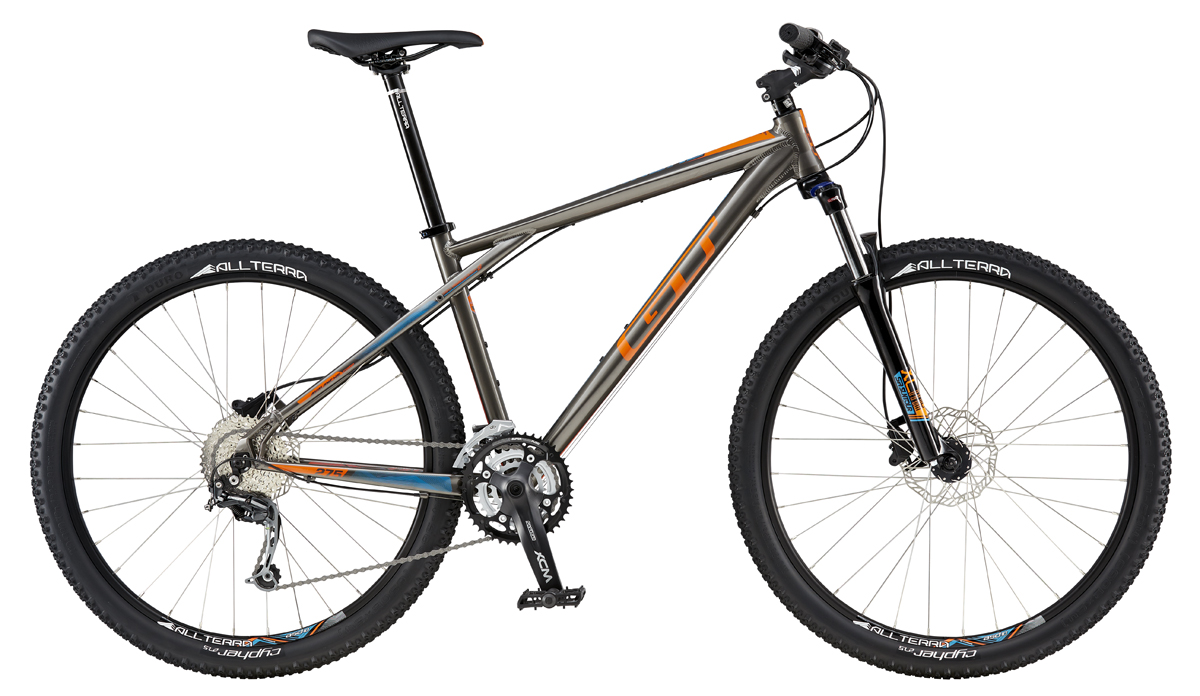 GT AVALANCHE 27,5 COMP, GRAY/ORANGE XS 2016