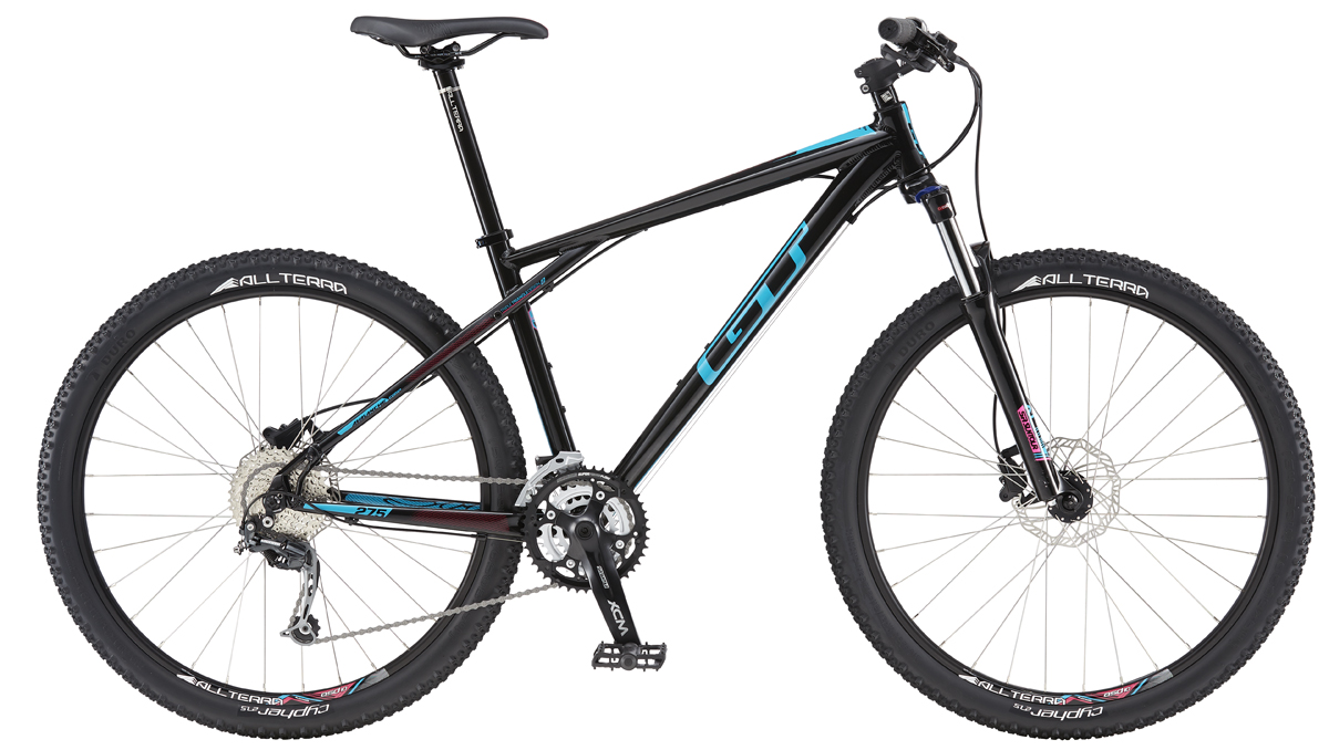 GT AVALANCHE 27,5 COMP WOMENS, BLACK/TEAL S 2016