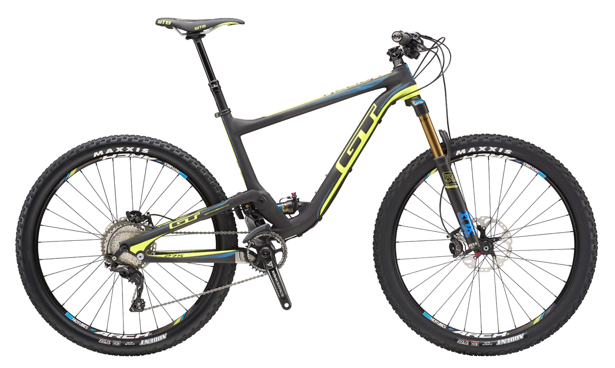 GT HELION 27,5 CARBON TEAM, RAW/NEON YELLOW S 2016