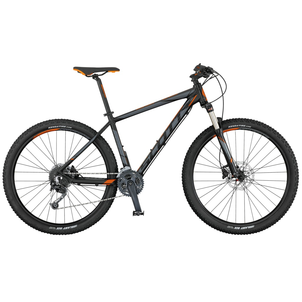 SCOTT Aspect 730 black/grey/orange XS 2017