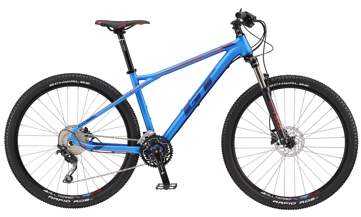 "GT AVALANCHE 27,5"" ELITE, BLUE/DEEP NAVY L 2017"