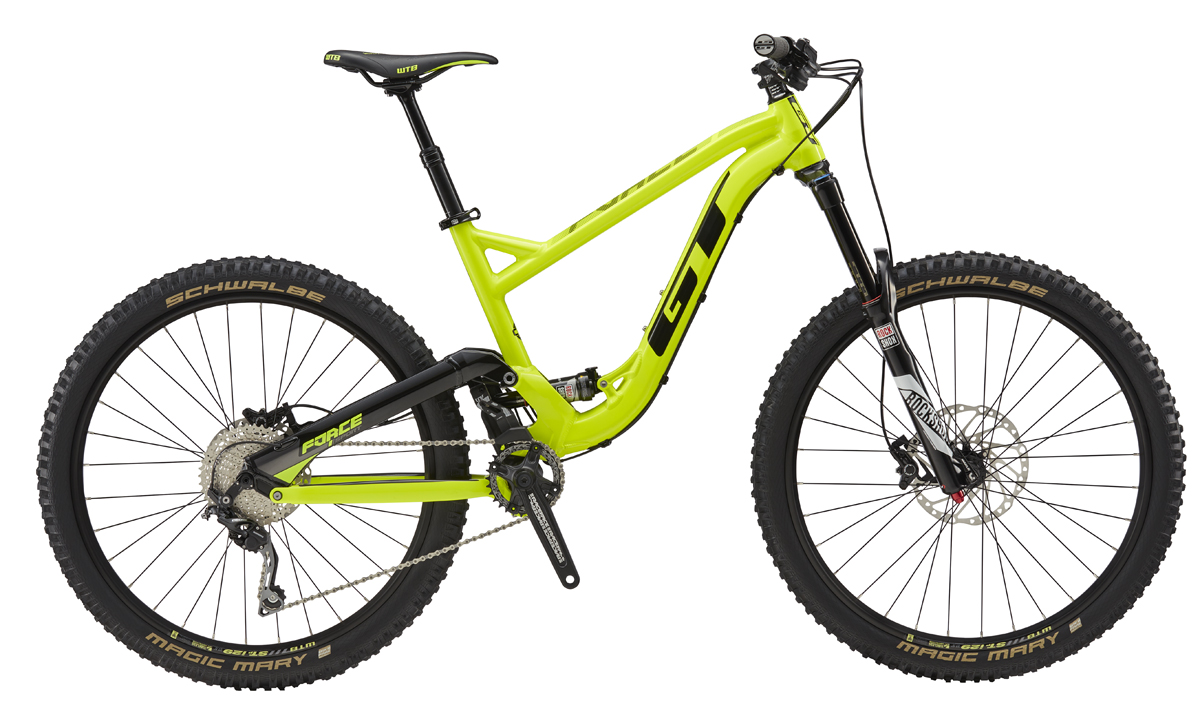 "GT FORCE 27,5"" SPORT, NEON YELLOW/BLACK M 2017"