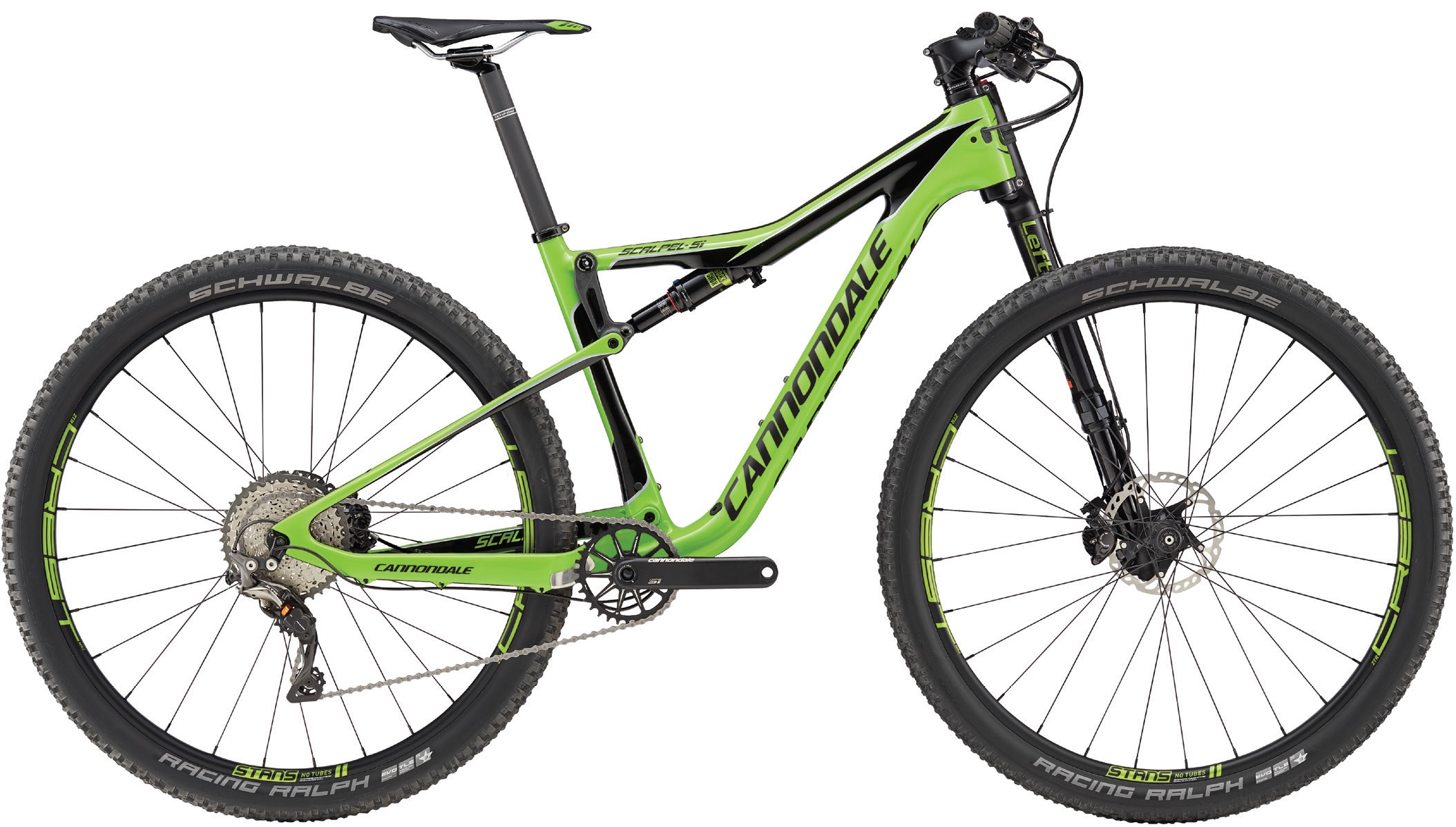 "Cannondale SCALPEL Si 29"" CARBON 3 - GREEN S 2017"