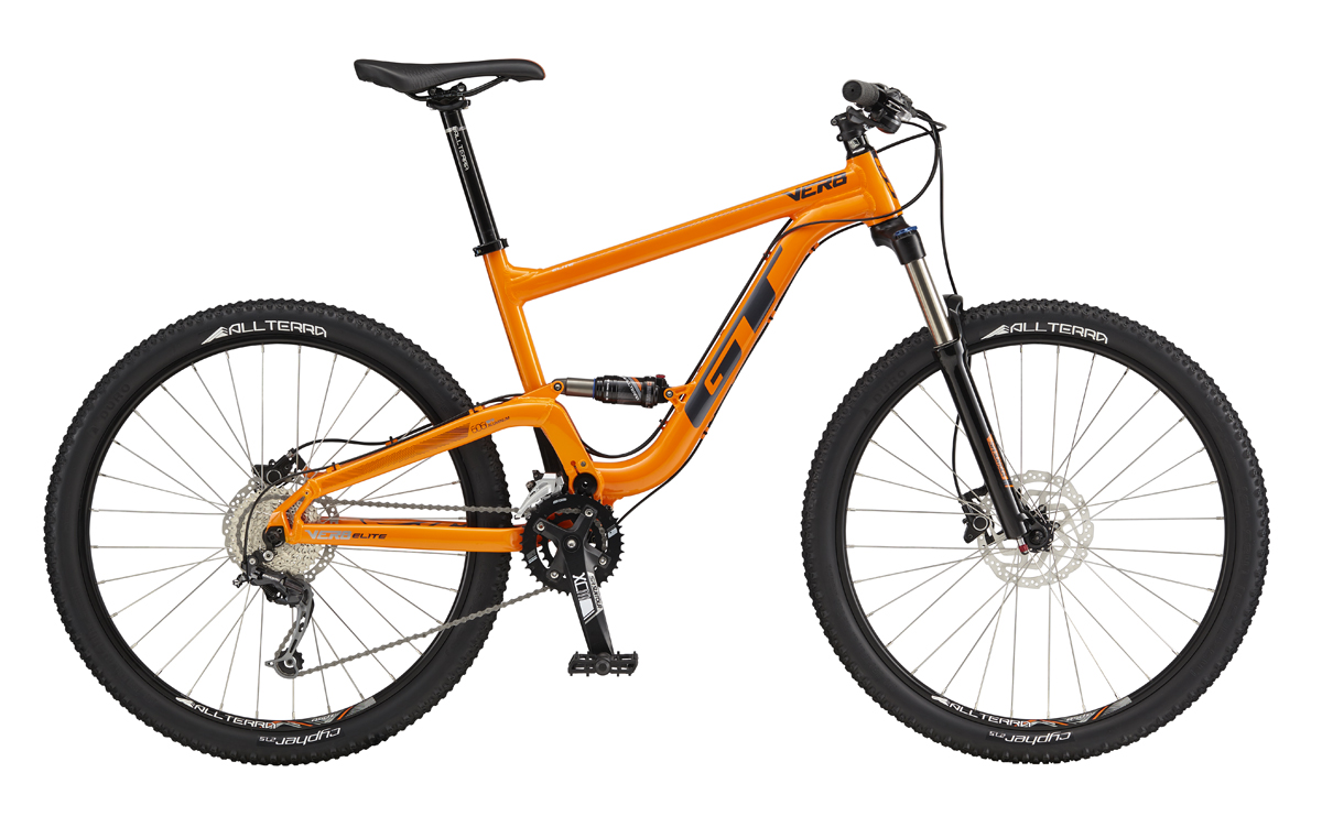 "GT VERB 27,5"" ELITE, ORANGE/CHARCOAL L 2017"