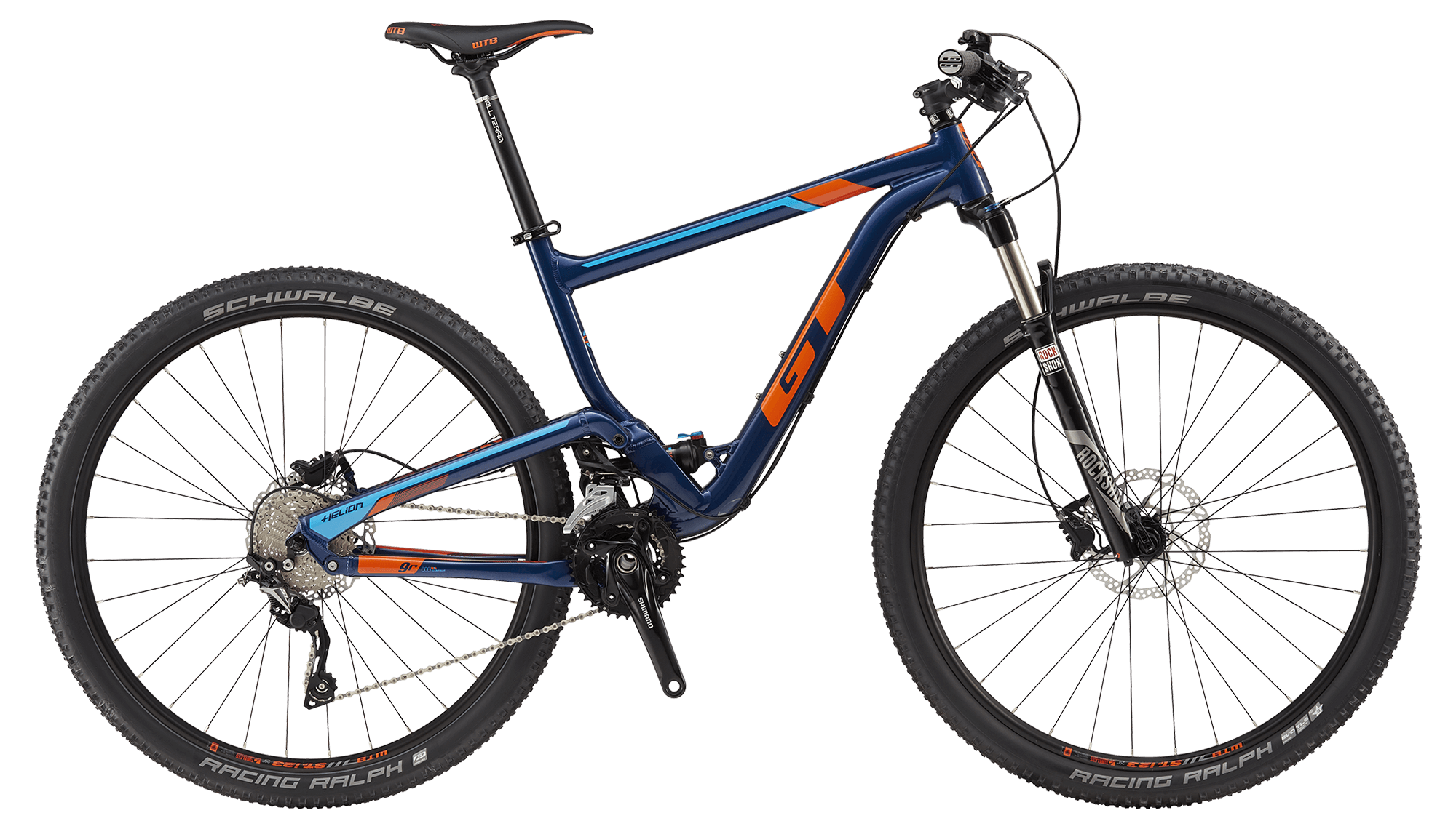 "GT HELION 29"" ELITE, DEEP NAVY/ORANGE S 2017"