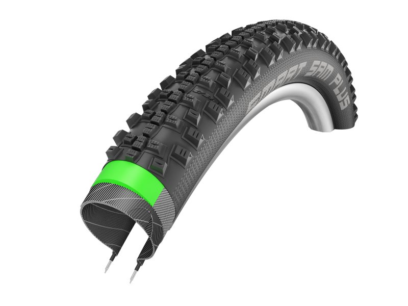 SCHWALBE Smart Sam Plus 26x2.25 new GreenGuard 2017