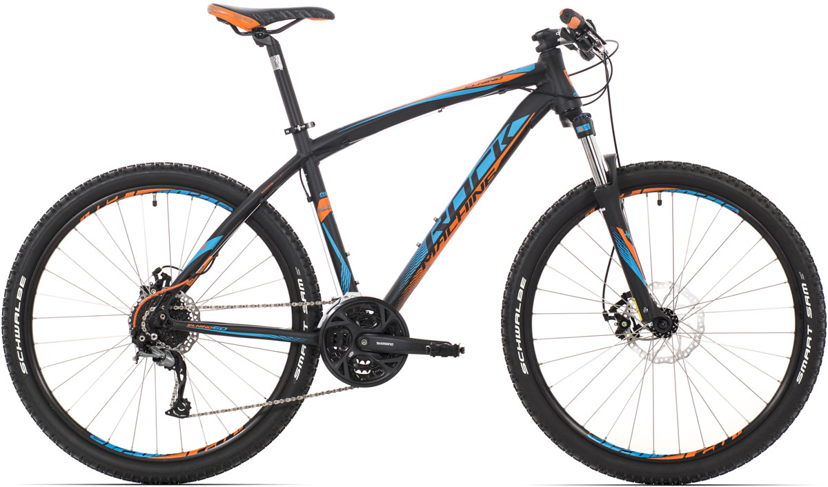 "ROCK MACHINE El Nino 60 (blue/orange) matt black 16,5"" 2015"