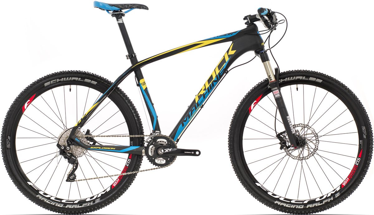 "ROCK MACHINE Explosion 70 (yellow/blue) matt black 19"" 2015"